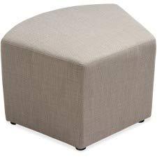 Lorell(R) Collaborative Seating Quad Chair, Fabric, Slate ()