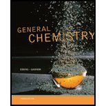 General Chemistry - Study Guide, Ebbing, Darrell and Gammon, Steven D., 1111989400
