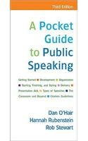 Pocket Guide to Public Speaking (3rd, 10) by O'Hair, Dan / Rubenstein, Hannah / Stewart, Rob [Paperback (2009)]