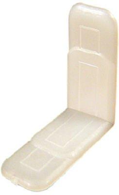 Prime Line 22843 White Drawer Guide44; Pack - 10 ()