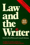 Law and the Writer, Kirk Polking, 0898791707
