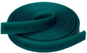 """STS Squeegee Blade 3/8"""" X 2"""" 70 Durometer 144"""" or 12 Feet Roll Green!!"""