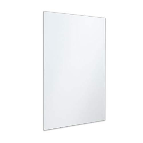 Better Bevel Frameless Rectangle Wall Mirror | Flush Mount Bathroom Mirror (24
