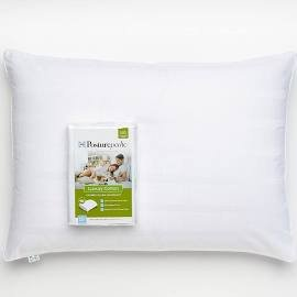 sealy-posturepedic-pillow-protector-white-cotton-stain-release-fabric-treatment-king