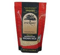 truRoots Organic Germinated Brown Rice 14 Ounces (Case of 6) by Truroots