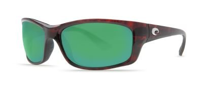Costa Del Mar JO10GMGLP Fisch Sunglasses, Tortoise, Green Mirror 400G Lens ()
