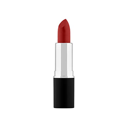 Cream Lipstick by Sacha Cosmetics, Best Matte Moisturizing Long Lasting Lip Stick, Color Intense Makeup for All Skin Tones, 0.15 oz, Just Red