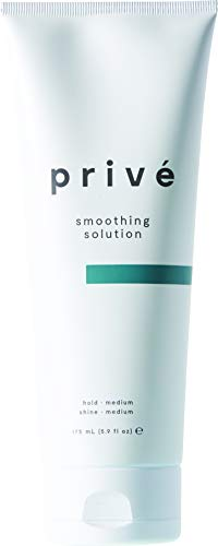 Privé Smoothing Solution (5.9 Fluid Ounce / 174 Milliliter) - Combat Frizz Creating a Sleek Finish for Straight, Defined and Soft Hair