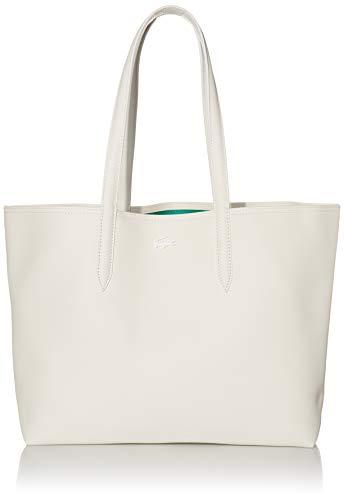 Lacoste Womens Stripe Anna Shopping Tote Bag