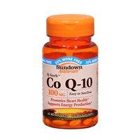 Sundown Q-Sorb CoQ-10 100 mg Softgels 30 Soft Gels (Pack of 6)