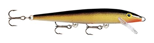 Rapala Original Floater 18 Fishing lure, 7-Inch, Gold