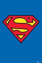 [Movies Posters: Superman - Logo - 35.5x23.8 inches] (Iconic Movie Characters Costumes)