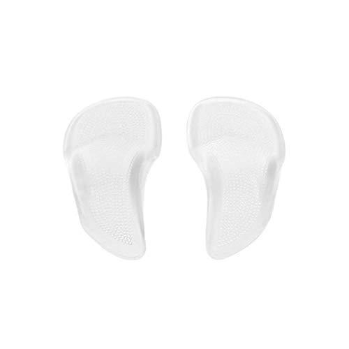 1 Paar Silikon Fußgewölbe Schuhkissen für Platte Füße Senkfußstütze