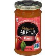 Polaner All Fruit Spreadable Fruit Peach, 10.0 OZ (Pack of 2)