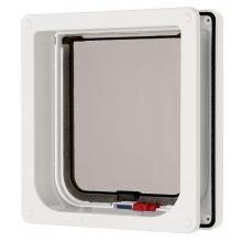 t Flap with Door Liner White (Lockable Cat Door)