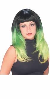 Delights Fancy Dress (Lime Delight - Adult Fancy Dress Wig by Rubie?s)