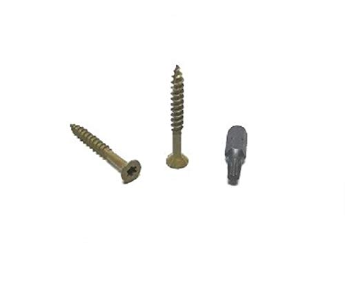 WoodPro Fasteners AP8X112-1 Number-8 by 1-1//2-Inch All Purpose Wood Construction Screws T20, 2-Pounds