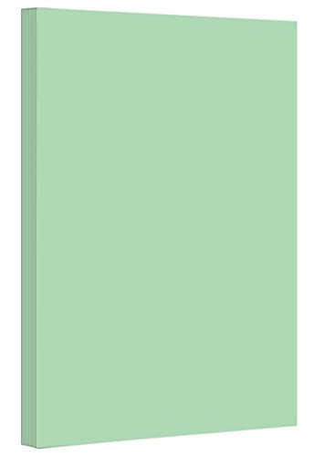Green - Colored Card / Cover Stock 67lb. Size 8.5 X 14 Legal / Menu Size 50 Per Pack