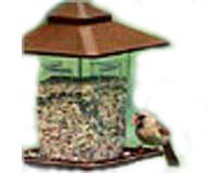 Artline Prairie Style Feeder Large Roof Overhang & Extra Large Seed Capacity Easy Filling