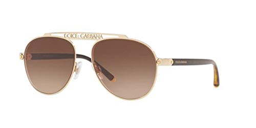 Dolce & Gabbana 0DG2235 Gafas de sol, Gold, 57 para Mujer ...