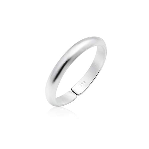 Ring Silver Silver Tone Toe (Big Apple Hoops - Genuine 925 Sterling Silver ''Basic and Simple'' Open Knuckle/Toe Ring for Women | All Day Comfort with 14 Unique Styles)