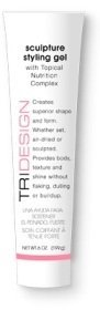 TRIDESIGN Sculpture Styling Gel with Topical Nutrition Complex 6oz/199g
