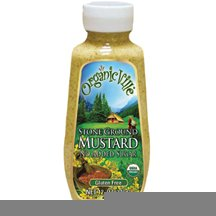 Ground Vinegar (OrganicVille Stone Ground Mustard, 12 Ounce -- 12 per case.)