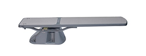S.R.Smith 68-207-57820G Salt Pool Jump System w/Gray TrueTread Diving Board and Stand, 8 - Smith Slide Sr