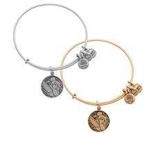 Disney Parks Alex and Ani Tinker Bell Gold Bracelet