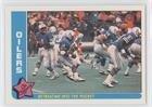 Houston Oilers Team (Football Card) 1985 Fleer in Action - [Base] #28 28 Houston Oilers