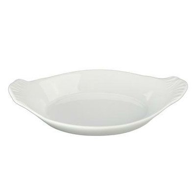 Dish Baking Shaped (10 Oz. Oval Au Gratin Baking Dish [Set of 4])