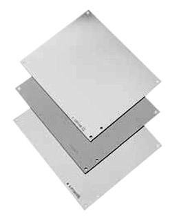 A16P10 - Panel, 14 Gauge, Steel, White, Junction Boxes, 375 mm, 226 mm (Pack of 2) (A16P10)