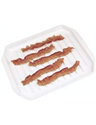- Fox Run Microwave Compact Bacon Rack Hotdog/burger Cooker Tray Food Defroster