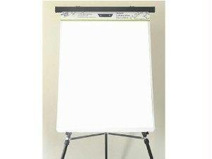 Wizard Wall Easel Pad, Perforated Sheets, 24w x 29h, White, 15 Sheets/Pad, 6 Pads/Pack
