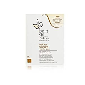 Bain De Terre Natural texture cysteine perm (Color-Treated or Previously Permed Hair)