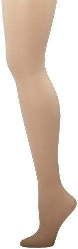 Hanes Women's Non Control Top Sandalfoot Silk Reflections Panty Hose, Travel Buff, A/B
