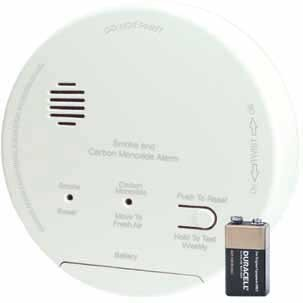 Photoelectric Accessory (Gentex GN-503FF Hard Wired Smoke/Carbon Monoxide Photoelectric Alarm with Backup)