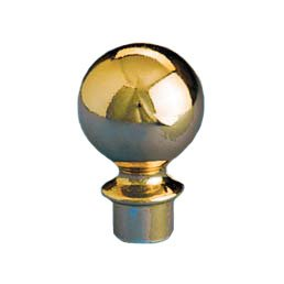 Slip Fit Ball Top 2 Inch Gold for 1
