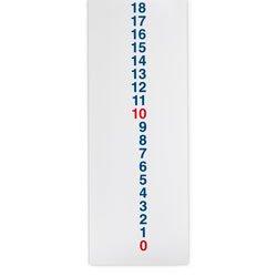vertical number line - 1