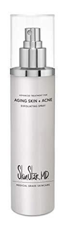 Acne Spray for Body & Face, Yoga Mat Spray, Medical Grade Skin Toner, Antioxidant Anti Aging Acne Skin Care, Prevents Razor Burn, Ingrown Hairs & Folliculitis, 8 Fl. Oz.