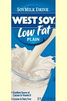 Low Fat Soy Milk (Westsoy Soy Milk Plain Low Fat, 32-ounces (Pack of12))
