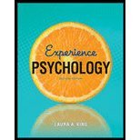 Experience Psychology, Laura A. King, 0077771419