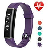 Letsfit Fitness Tracker with Heart Rate Monitor, Pedometer Watch, Waterproof Smart Watch Activity