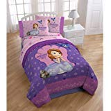Disney Junior Sofia The First Graceful Reversible Twin/Full Comforter by Disney
