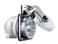 (Hubbell Hbl303ss 30a Inlet Round Stainless Steel)