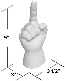 home, kitchen, home décor, home décor accents, sculptures,  statues 11 discount Interior Illusions Middle Finger Hand Tabletop Decoration in USA