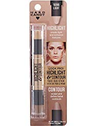 Hard Candy Highlight and Contour Face Duo Stick, 1096 Light