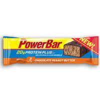 Power Bar Protein Plus Bar Chocolate Peanut Butter, Chocolate Peanut Butter 2.12 OZ(case of 15) (Pack of 3) by Power Bar