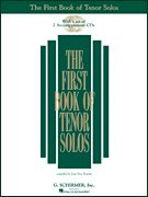 The First Book Of Tenor Solos: Book/Audio Online (First...