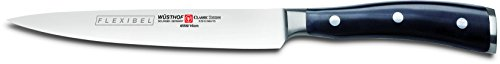 - Wusthof 4556-7 Classic IKON Fillet Knife One Size Black, Stainless